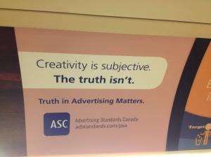 Creativity vs Truth